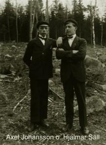 Axel Johansson och Hjalmar Säll