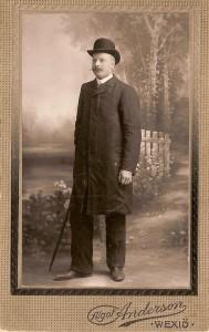 Andersson, Gustav, Byggmästare i Norrhult