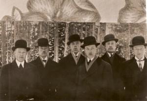 Grupp män