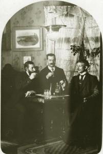 Anton Ahlgren, Carl Fransson och Oskar Träff