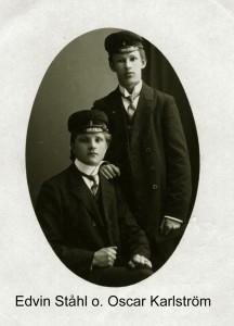 Edvin Ståhl och Oscar Karlström