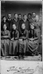 Norrhultsbor (?) senare hälften av 1800-talet