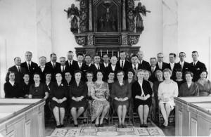 Konfirmandåterträff 1966