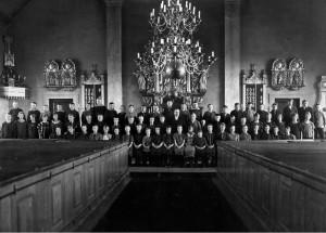 Konfirmander i Nottebäcks kyrka 1926