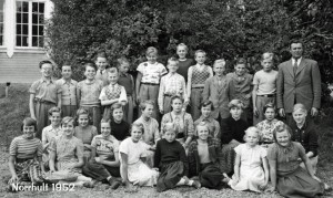 Norrhults skola 1952