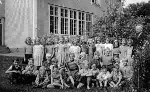 Norrhults skola 3e och 4e klass 1949/1950