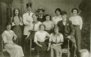 Norrhultsbor omkring år 1920
