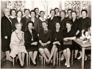 Okänd grupp kvinnor