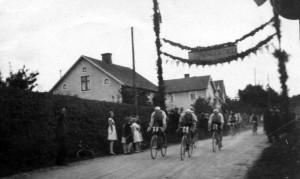 Cykeltavling - stor