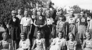 Norrhults skola 1936 b - nummer